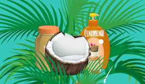 Curry leaves and coconut oil as home remedies for white hair